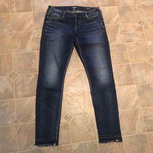Silver Tuesday low skinny jeans